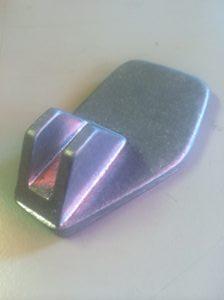 Alvis aluminium pedal